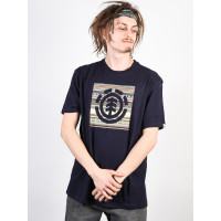 Element INDIANA LOGO BLOCK ECLIPSE NAVY pánské tričko s krátkým rukávem - M