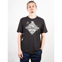 Element ROLLING OFF BLACK pánské tričko s krátkým rukávem - L