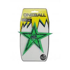 Oneballjay STAR green grip snowboard