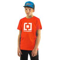 Horsefeathers BASE tomato red dětské tričko s krátkým rukávem - M