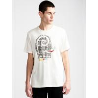 Element PIMIENTO off white pánské tričko s krátkým rukávem - L