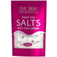 Dr. Sea Dead Sea Salts With Rose Petals 500 g