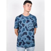 Oakley ALLOVER SUNGLASS CAMOU BLU pánské tričko s krátkým rukávem - L