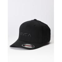 RVCA FLEX FIT black baseball čepice - L/XL