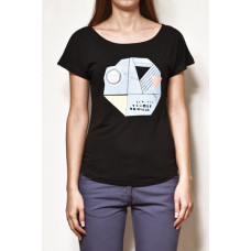 Vehicle POSTAGE black dámské tričko s krátkým rukávem - L