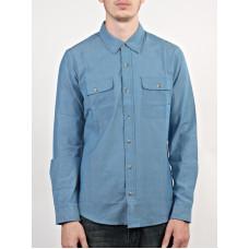 Ezekiel STRYDER MARINE BLUE pánská košile dlouhý rukáv - M