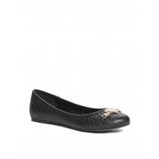 GUESS baleríny Rina Logo-Embossed Flats černé vel. 37,5