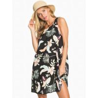 Roxy SWEET WHISPER ANTHRACITE LARGE PRASLIN společenské šaty krátké - XS