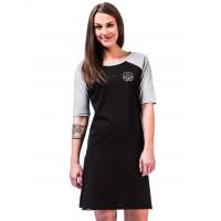 Horsefeathers IVET black společenské šaty krátké - M