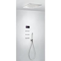 TRES - Termostatický podomítkový elektronický sprchový set SHOWER TECHNOLOGY CHROMOTHERAPY Včetně elektronického ovládání (če (09288310)