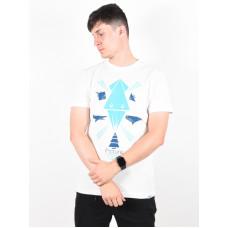 Picture Seabed white pánské tričko s krátkým rukávem - L