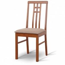 Jídelní židle Silas tmavý dub - TempoKondela