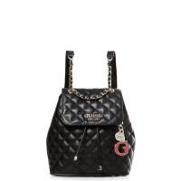 GUESS batoh Melise Chain Strap Backpack černý vel.
