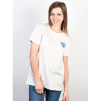 Vans SOUND CHECKER Marshmallow dámské tričko s krátkým rukávem - M