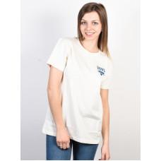 Vans SOUND CHECKER Marshmallow dámské tričko s krátkým rukávem - L