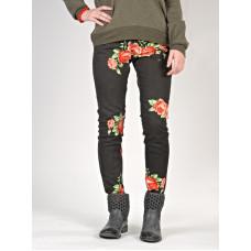 Element STICKER Floral značkové dámské džíny - 25
