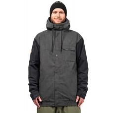 Horsefeathers RAVEN shadow melange zimní bunda pánská - XL