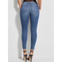 GUESS rifle Soft Luxe Sexy Curve Skinny Jeans modré vel. 26