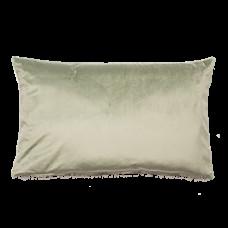 Dekorační polštář světle zelený 40 x 65 cm