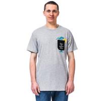 Horsefeathers COCKTAIL ASH pánské tričko s krátkým rukávem - XL