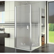 SanSwiss SL1 0750 50 44 Sprchové dveře jednokřídlé 75 cm, aluchrom/cristal perly