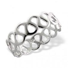OLIVIE Stříbrný prsten 1207 Velikost prstenů: 6 (EU: 51 - 53)