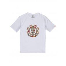 Element ORIGINS ICON OPTIC WHITE pánské tričko s krátkým rukávem - S