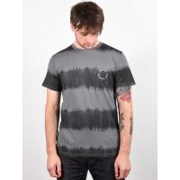 Rip Curl ACIDOULOUS black pánské tričko s krátkým rukávem - L