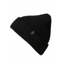 RVCA DAYSHIFT black pánská zimní čepice
