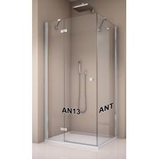 SanSwiss ANT 0750 50 07 Boční stěna sprchová 75 cm, aluchrom/sklo