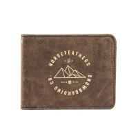 Horsefeathers COLBERT brown luxusní pánská peněženka