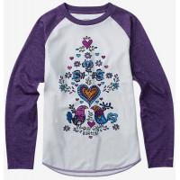 Burton YOUTH TECH WHITE VIOLET dětské thermo prádlo - L