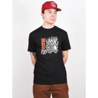 Spitfire FIEND SF BLK/RED pánské tričko s krátkým rukávem - M