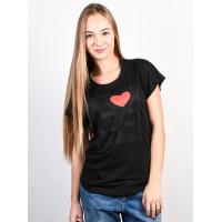 Ezekiel Love BLK dámské tričko s krátkým rukávem - L