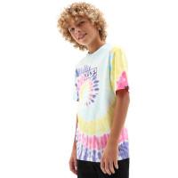 Vans TIE DYE EASY BOX RAINBOW (SPECTRUM)TIE DYE dětské tričko s krátkým rukávem - M