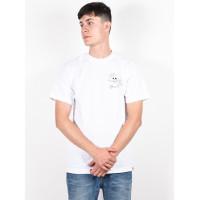 Dc TFUNK TATIANA white pánské tričko s krátkým rukávem - XL