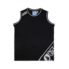 Picture Jordan black pánské bavlněné tílko - XL