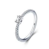 OLIVIE Zásnubní stříbrný prsten 3789 Velikost prstenů: 8 (EU: 57 - 58)