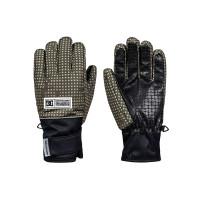 Dc FRANCHISE OLIVE NIGHT DESERT NIGHT CAMO pánské prstové rukavice - XL
