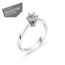 OLIVIE Stříbrný prsten QUEEN 1735 Velikost prstenů: 9 (EU: 59 - 61)