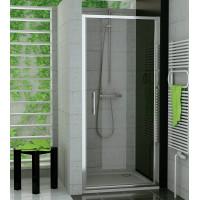SanSwiss TOPP 1000 50 07 Jednokřídlé dveře 100 cm, aluchrom/sklo
