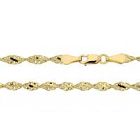 Couple Zlatý náramek Terdi 3640020 Délka náramku: 18 cm