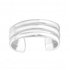 OLIVIE Stříbrný prsten 3 linie 2224