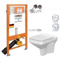 JOMO - SET JOMO Duofix modul pro závěsné WC + montážní sada + sedátko + WC CERSANIT CLEANON COMO (174-91100700-00 CO1)