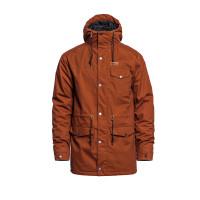 Horsefeathers PRESTON LEATHER BROWN zimní bunda pánská - XS