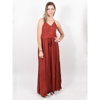 Rip Curl OASIS MUSE rosewood luxusní plesové šaty dlouhé - L