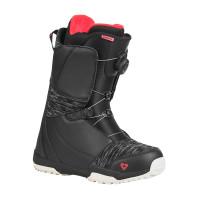 Gravity AURA ATOP BLACK/BERRY dámské boty na snowboard - 38EUR