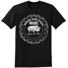 REUZEL Classic Logo Women's T-Shirt Black Medium