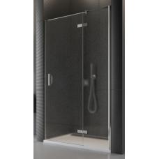 SanSwiss PU13PD 090 10 44 Sprchové dveře jednodílné 90 cm pravé, chrom/cristal perly