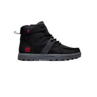 Dc WOODLAND BLACK/BATTLESHIP/ATHLETIC RED pánské boty na zimu - 46EUR